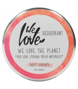 Déodorant crème Sweet Serenity naturel rose, miel & herbes douces - 48g - We Love The Planet