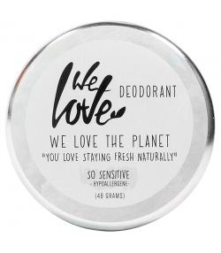 Natürliche Deo Creme So Sensitive ohne Bicarbonat & ohne ätherische Öle - 48g - We Love The Planet