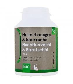 Huile d'onagre & bourrache BIO 500 mg 180 capsules - BIOnaturis