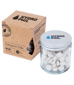 Pastilles de dentifrice naturelles sauge avec fluor - 130 pièces - Hydrophil
