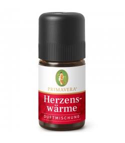 Synergie d'huiles essentielles chaud au coeur - 5ml - Primavera