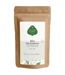 Shampooing en poudre extérieur BIO shikakai & amla - 10g - Eliah Sahil