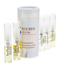 Set de parfums naturels Collection - 5x2ml - Farfalla