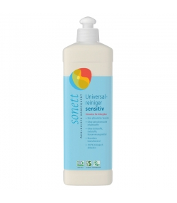 Nettoyant tout usage sensitif écologique sans parfum - 500ml - Sonett