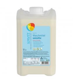 Ökologisches Flüssigwaschmittel sensitiv ohne Duft - 67 Waschgänge - 5l - Sonett