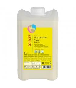 Ökologisches Flüssigwaschmittel Color Minze & Lemongrass - 70 Waschgänge - 5l - Sonett