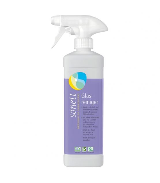 Nettoyant pour vitres écologique lavande & lemongrass - 500ml - Sonett