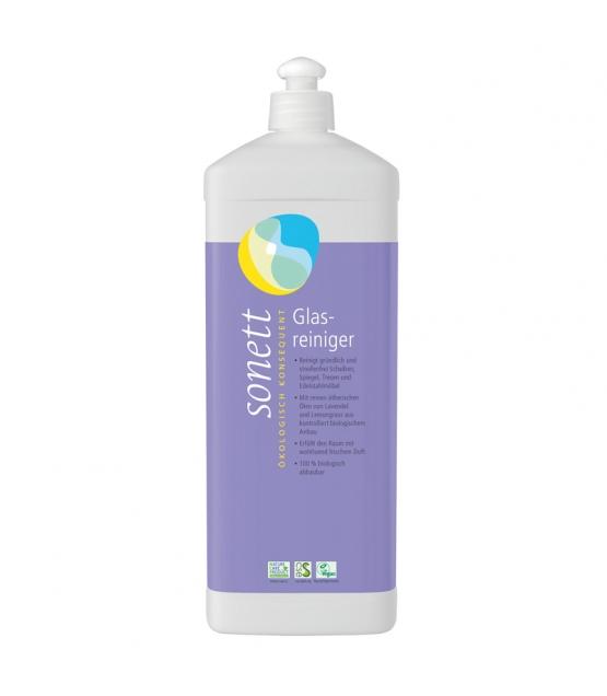 Ökologischer Glasreiniger Lavendel & Lemongrass - 1l - Sonett