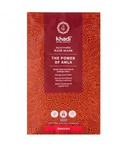 Ayurvedische BIO-Haarmaske Starke Haarwurzeln & kräftiges Haar Amla - 50g - Khadi