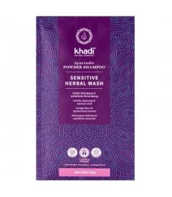 Ayurvedisches BIO-Shampoo Pulver Sensitiv Sanfte Reinigung & Beruhigung Heiliges Basilikum - 50g - Khadi