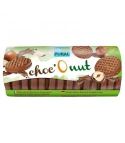 Biscuits fourrés à la crème au cacao & noisettes BIO - Choc'O nut - 85g - Pural