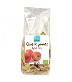 Chips de pommes séchées BIO - 90g - Pural