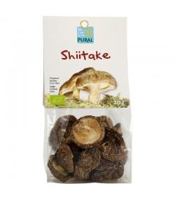 Shiitake séchés BIO - 20g - Pural