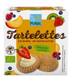 BIO-Tartelettes Dinkel - 150g - Pural