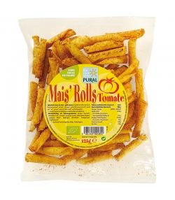 Chips de maïs roulées à la tomate BIO - 125g - Pural