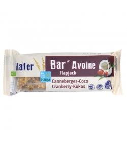 BIO-Haferriegel Cranberry & Kokos - 50g - Pural