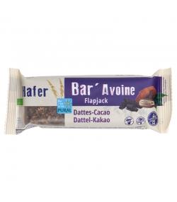 Barre à l'avoine aux dattes & cacao BIO - 50g - Pural