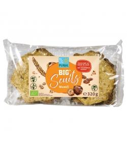 Biscuits au müesli BIO - Big'Scuits - 320g - Pural