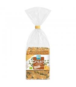 BIO-Knäckebrot Weizen, Käse & Kürbiskern - Crusty - 200g - Pural