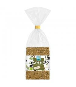 Pain croustillant au blé, olives & romarin BIO - Crusty - 200g - Pural