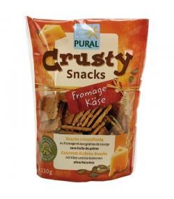 Snacks croustillants au blé, fromage & graines de courge BIO - Crusty snacks - 110g - Pural