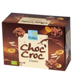 Cornflakes au amandes & chocolat au lait BIO - Choc'Croc - 100g - Pural