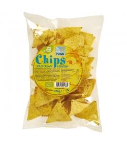 Chips de maïs à la crème aigre & oignons BIO - 125g - Pural