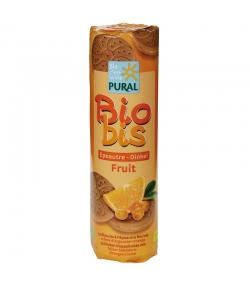 Biscuits fourrés ronds épeautre, argousier & orange BIO - 300g - Pural
