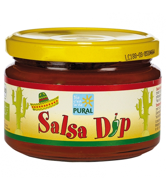 BIO-Sauce Salsa Dip mild - 260g - Pural