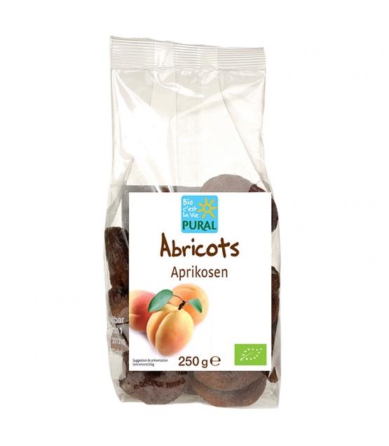 Abricots dénoyautés & séchés BIO - 250g - Pural