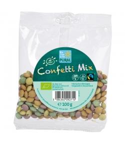BIO-Vollmilch-Schokolinsen - Confetti Mix - 100g - Pural