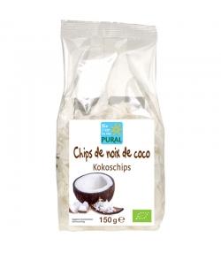 Chips de noix de coco séchés BIO - 150g - Pural