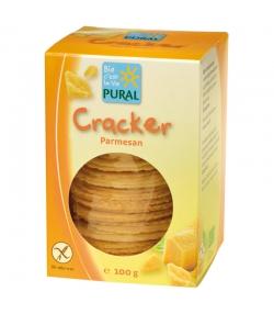 Cracker au parmesan BIO - 100g - Pural