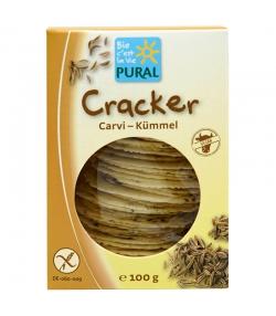 Cracker au cumin BIO - 100g - Pural