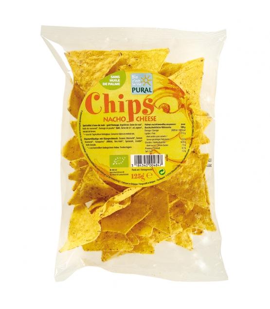 Chips de maïs au fromage BIO - 125g - Pural