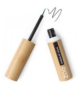 BIO-Eyeliner Pinsel N°075 Khaki Grün - 3,8ml - Zao Make-up