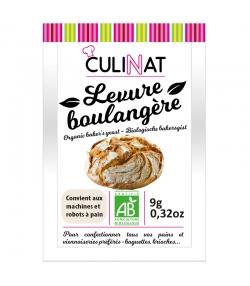 Levure boulangère BIO - 3x9g - Culinat