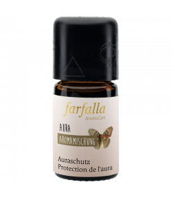 Synergie d'huiles essentielles Protection ambiante aura - 5ml - Farfalla