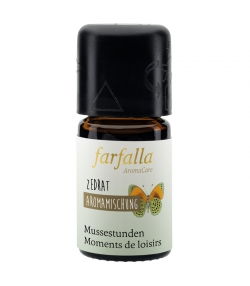 Synergie d'huiles essentielles Moments de loisirs cédrat - 5ml - Farfalla