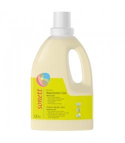 Lessive liquide écologique pour linge de couleur menthe & lemongrass - 21 lavages - 1,5l - Sonett