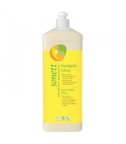 Ökologische flüssige Seife für Hände, Gesicht & Körper Citrus - 1l - Sonett