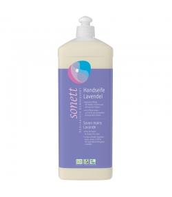 Ökologische flüssige Seife für Hände, Gesicht & Körper Lavendel - 1l - Sonett