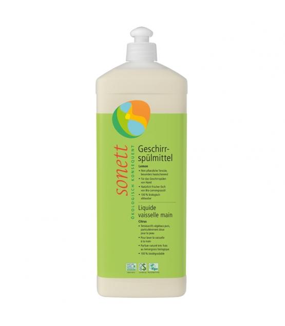 Ökologisches Geschirrspülmittel Lemongrass - 1l - Sonett