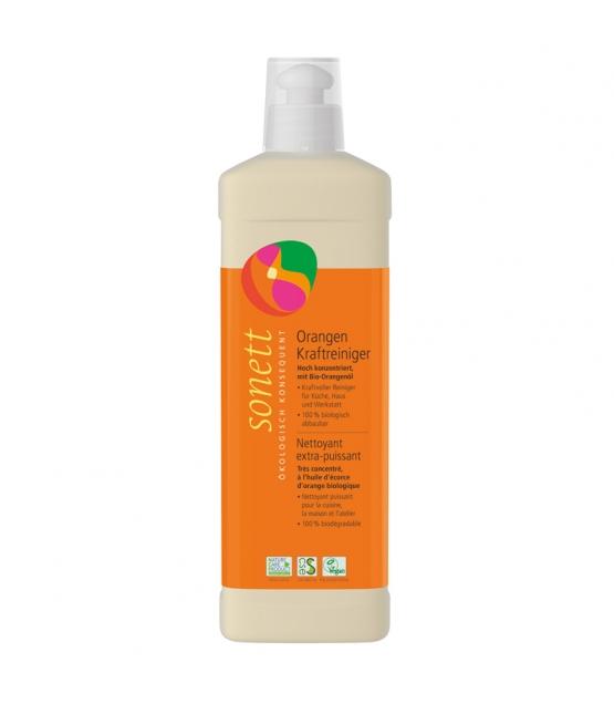 Nettoyant extra-puissant écologique orange - 500ml - Sonett