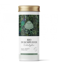BIO-Duschpulver bebebt & erfrischt Eukalyptus - 90g - Eliah Sahil