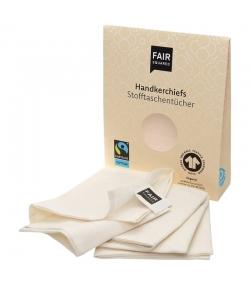 Stofftaschentücher aus BIO-Baumwolle - 3 Stück - Fair Squared