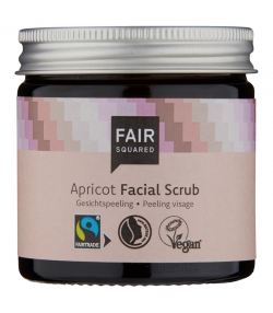 BIO-Gesichtspeeling Aprikose - 50ml - Fair Squared