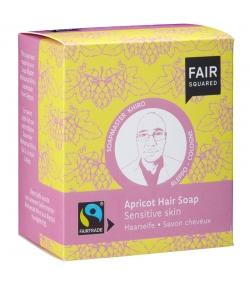 Savon cheveux BIO abricot - 2x80g - Fair Squared