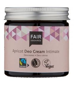 Déodorant crème intime BIO abricot - 50ml - Fair Squared