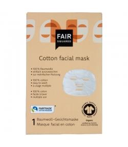 BIO-Baumwoll-Gesichtsmaske - 1 Stück - Fair Squared